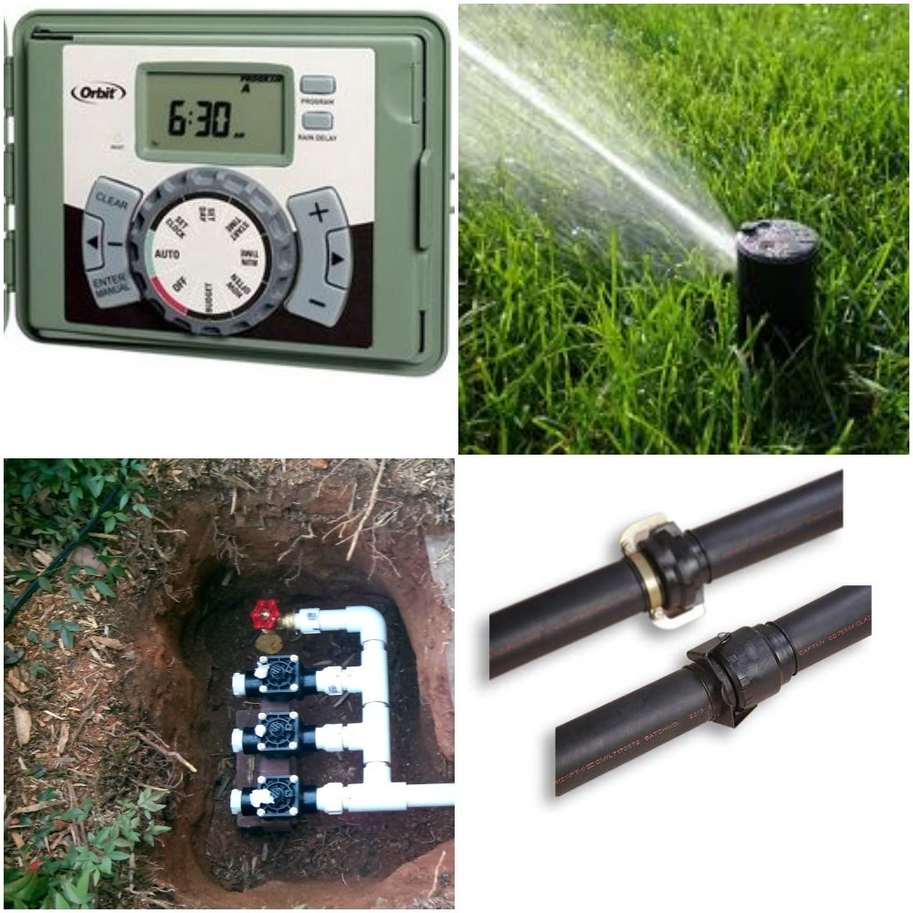 Different Components of Standard Sprinkler System