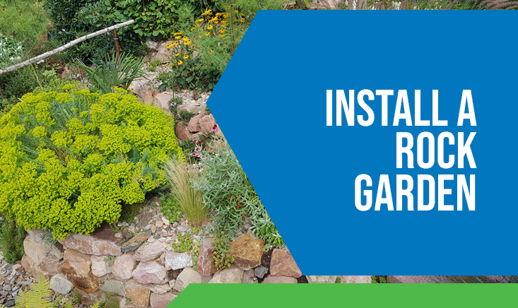 Install a Rock Garden